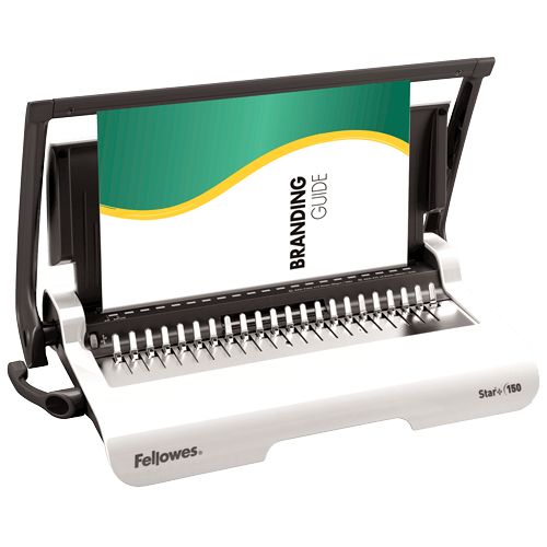 Encuadernadora manual de canutillo Fellowes Star +
